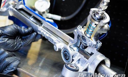 Реставрация рулевой рейки